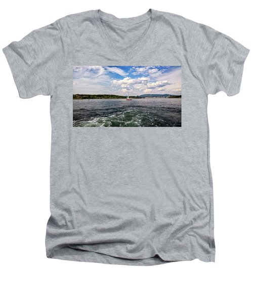 In The Oslo Fjord Men's V-Neck T-Shirt