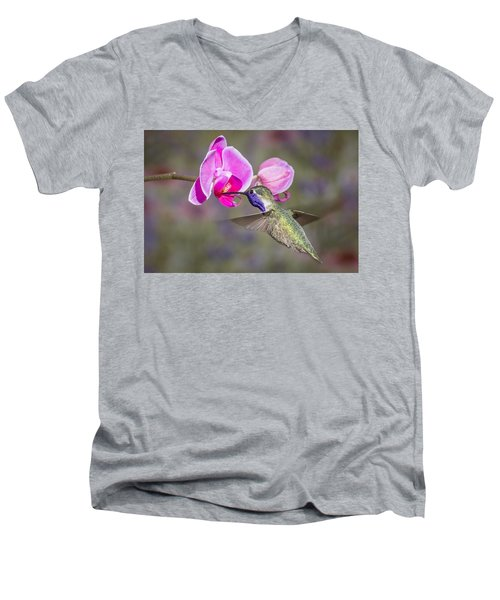 In The Pink Men's V-Neck T-Shirt
