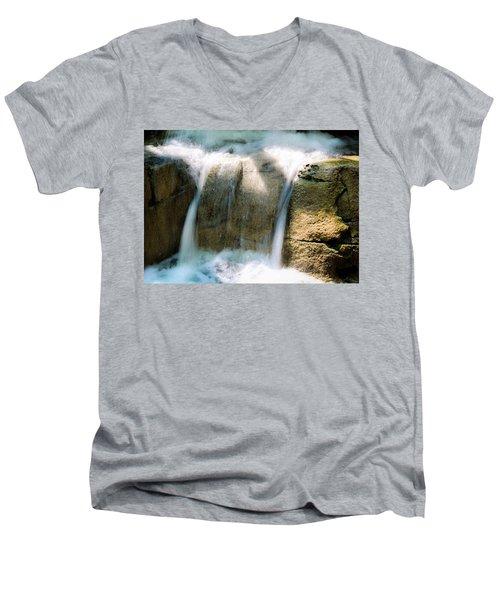 In The Pit Men's V-Neck T-Shirt