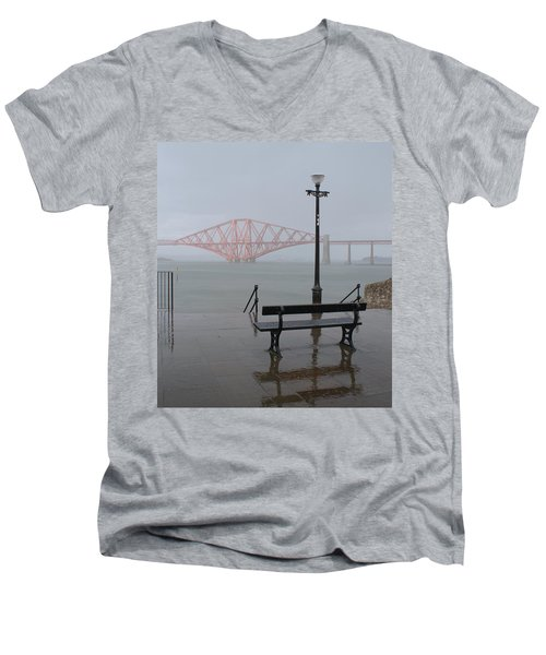 In The Rain Men's V-Neck T-Shirt