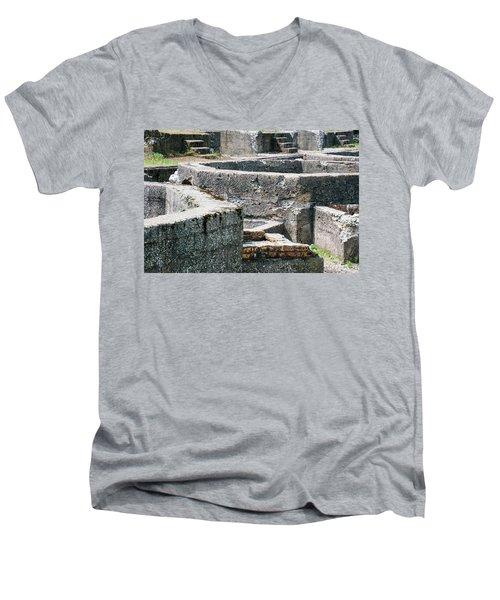 In The Ruins 6 Men's V-Neck T-Shirt