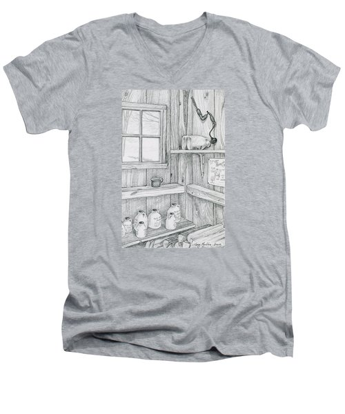 In The Sugar House Men's V-Neck T-Shirt