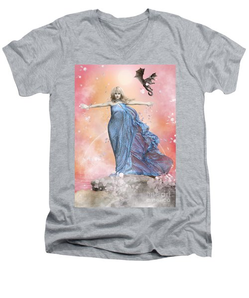 In The Wind Men's V-Neck T-Shirt