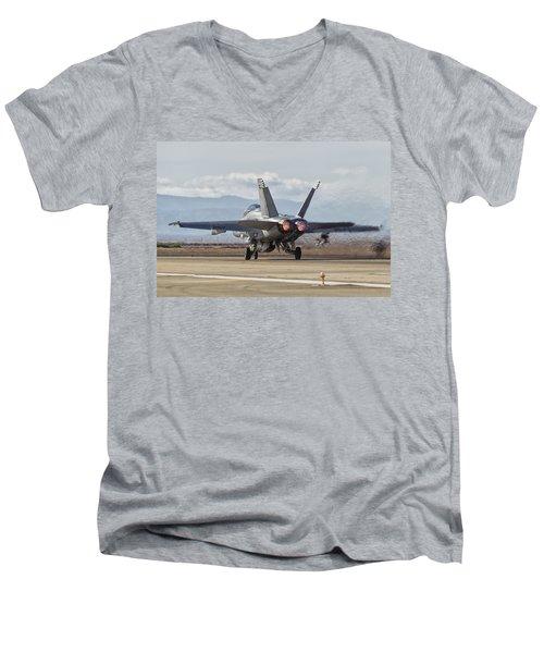 In Thrust We Trust Men's V-Neck T-Shirt