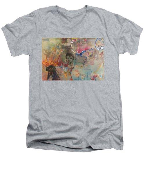 Lucid Men's V-Neck T-Shirt