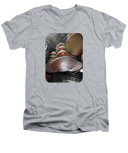 Incense Trays Men's V-Neck T-Shirt