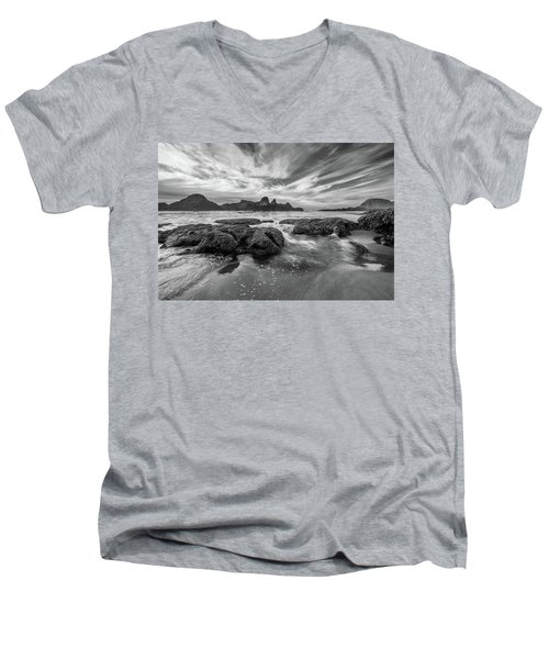 Incoming Tide Men's V-Neck T-Shirt