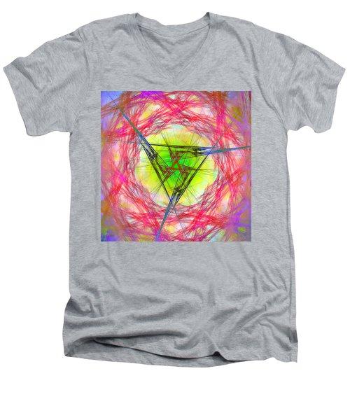 Incrusaded Men's V-Neck T-Shirt