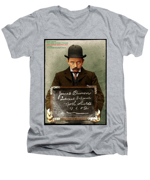 Indecent Exposure Men's V-Neck T-Shirt