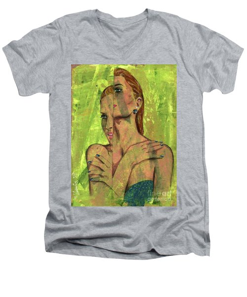 Indecision Men's V-Neck T-Shirt