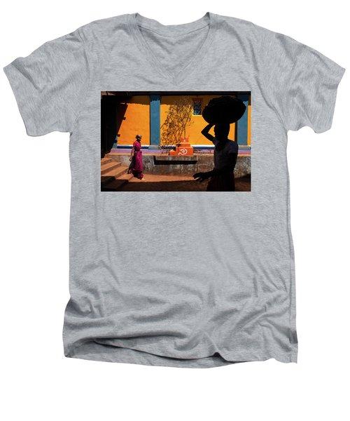 Indian Colors Men's V-Neck T-Shirt