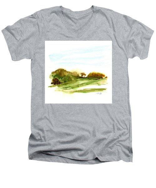 Indian Hill Groton Ma Men's V-Neck T-Shirt