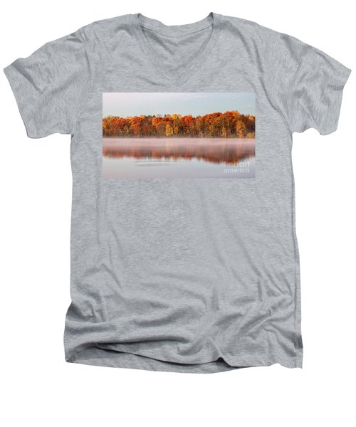 Indian Point Morning Men's V-Neck T-Shirt