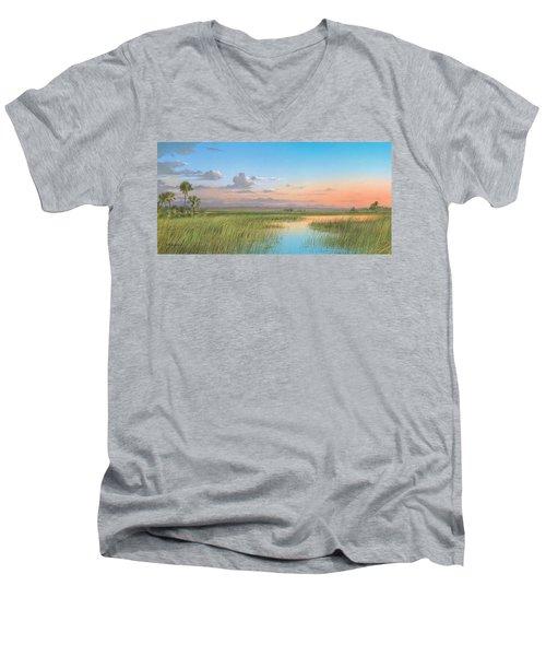 Indian River Men's V-Neck T-Shirt