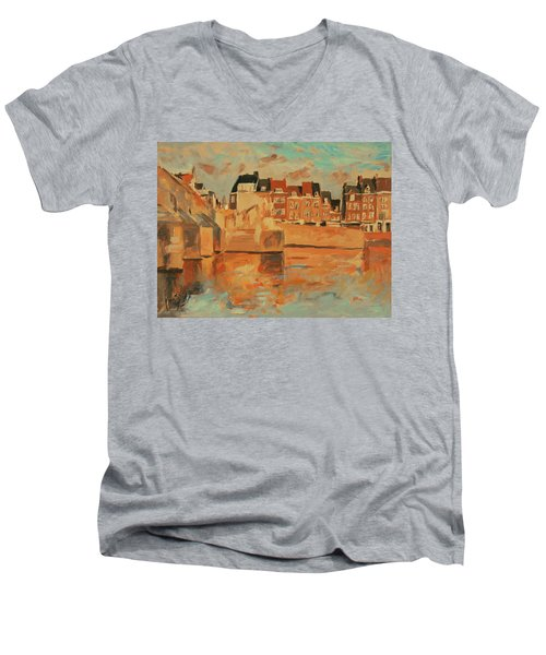 Indian Summer Light Maastricht Men's V-Neck T-Shirt
