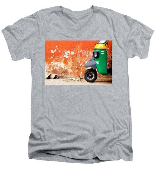 Indian Tuk Tuk Men's V-Neck T-Shirt