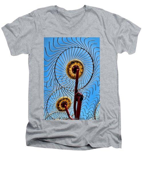Indiana Sky Men's V-Neck T-Shirt