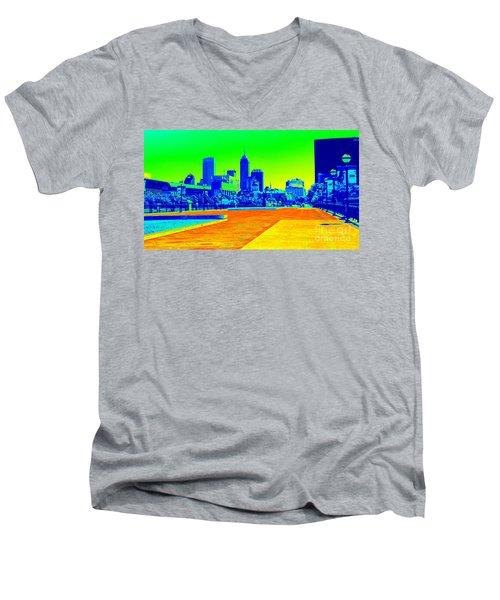 Indianapolis Heat Tone Men's V-Neck T-Shirt