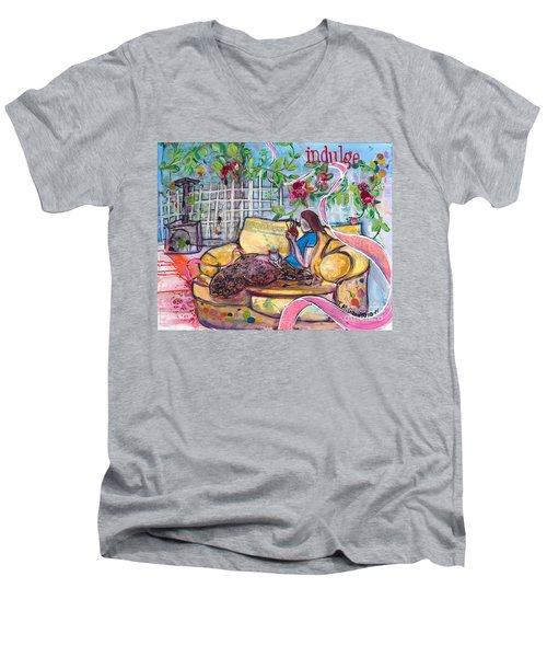 Indulge Men's V-Neck T-Shirt