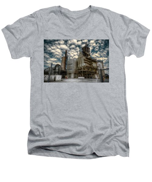 Industrial Disease Men's V-Neck T-Shirt