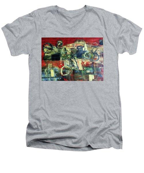 Indy 500 Men's V-Neck T-Shirt