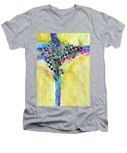 Indy Girl Men's V-Neck T-Shirt