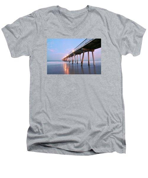 Infinite Bridge Men's V-Neck T-Shirt