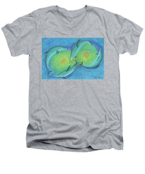 Infinity 3 Men's V-Neck T-Shirt