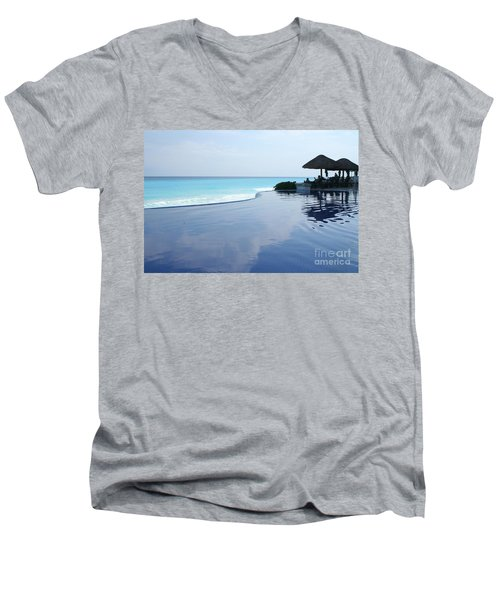 Infinity Pool Men's V-Neck T-Shirt