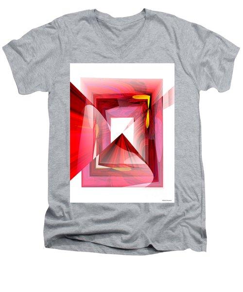 Infinity Tunnel  Men's V-Neck T-Shirt