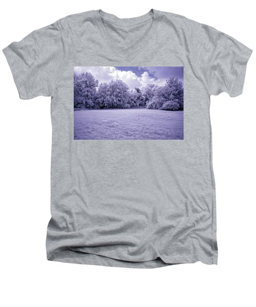 Infrared In Glasgow Ky Men's V-Neck T-Shirt