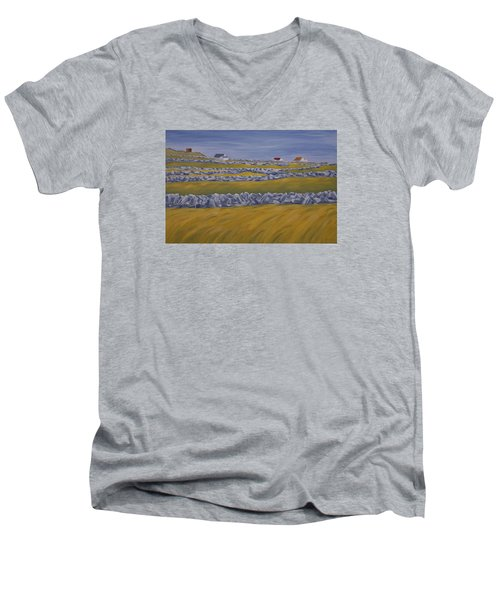 Inish Mor Men's V-Neck T-Shirt