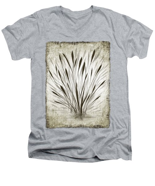 Ink Grass Men's V-Neck T-Shirt