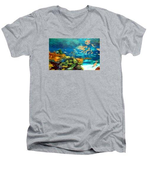 Inland Reef Men's V-Neck T-Shirt