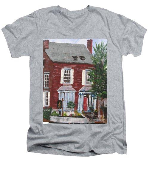 Inn At Park Spring Men's V-Neck T-Shirt