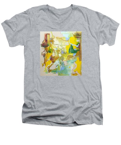 Inner Earth Men's V-Neck T-Shirt