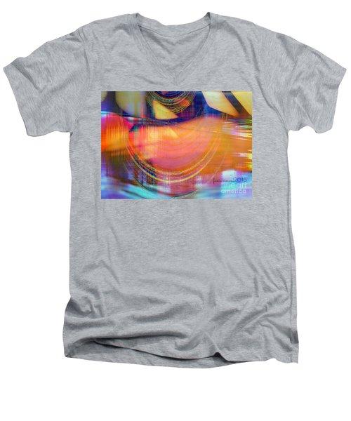 Inner View Men's V-Neck T-Shirt by Fania Simon