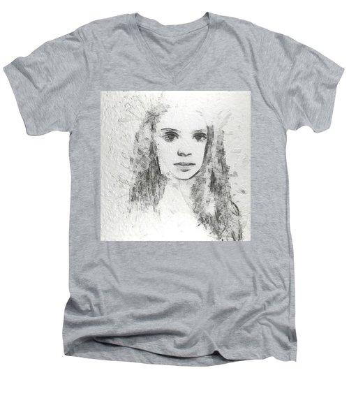 Innocence Men's V-Neck T-Shirt by Anton Kalinichev