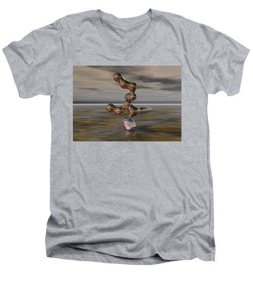Innovation The Leap Of Imagination  Men's V-Neck T-Shirt