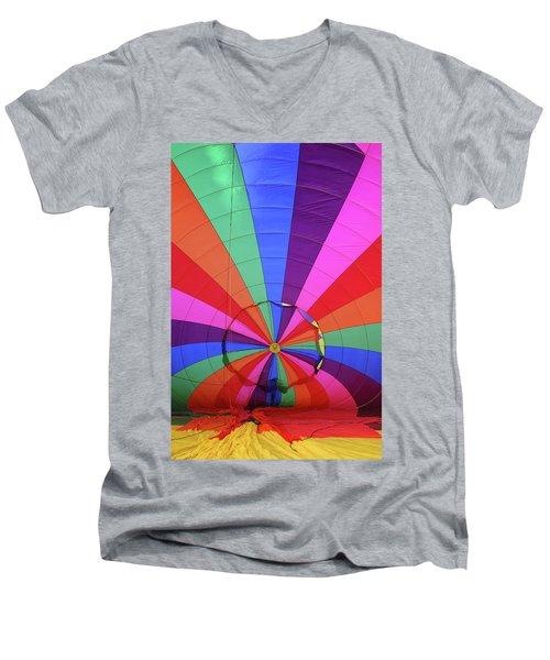 Inside Out Men's V-Neck T-Shirt