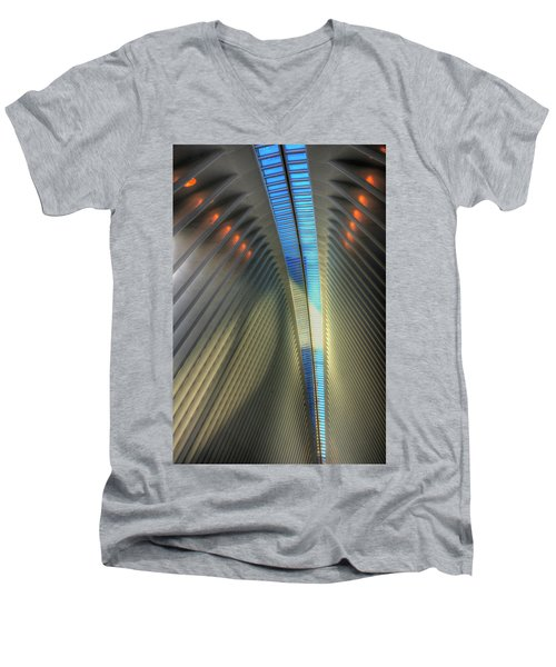 Inside The Oculus Men's V-Neck T-Shirt by Paul Wear