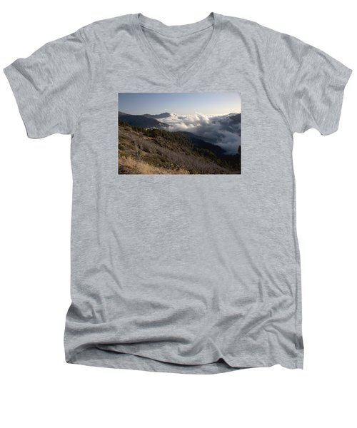 Inspiration Point View Men's V-Neck T-Shirt by Ivete Basso Photography