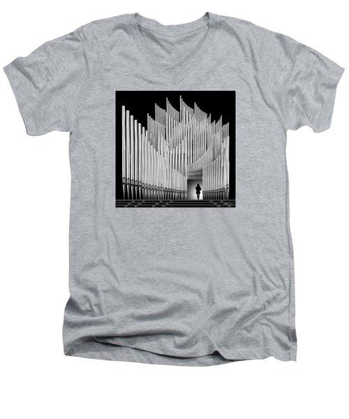 Inspirational Walk Men's V-Neck T-Shirt by Joe Bonita