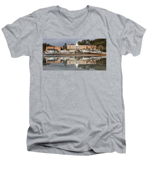 Institute Relections Men's V-Neck T-Shirt