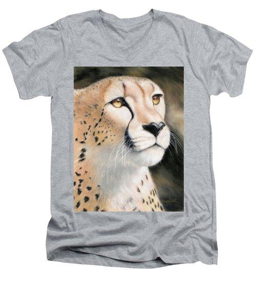 Intensity - Cheetah Men's V-Neck T-Shirt