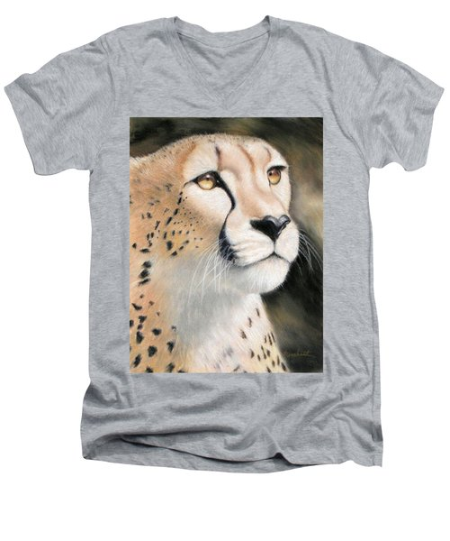 Intensity - Cheetah Men's V-Neck T-Shirt