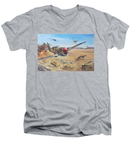 Interception Men's V-Neck T-Shirt