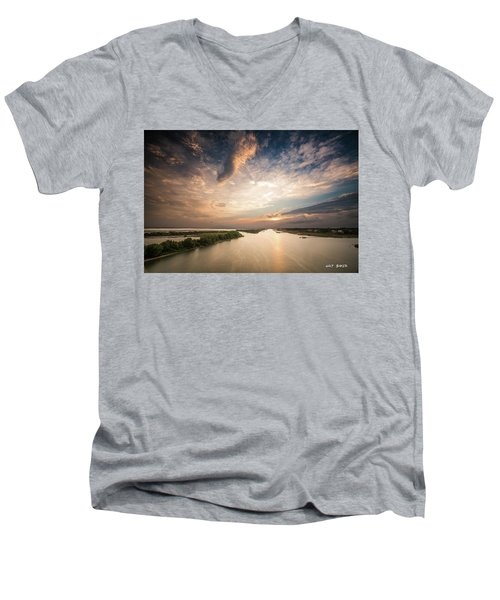 Intercoastal Sky Men's V-Neck T-Shirt