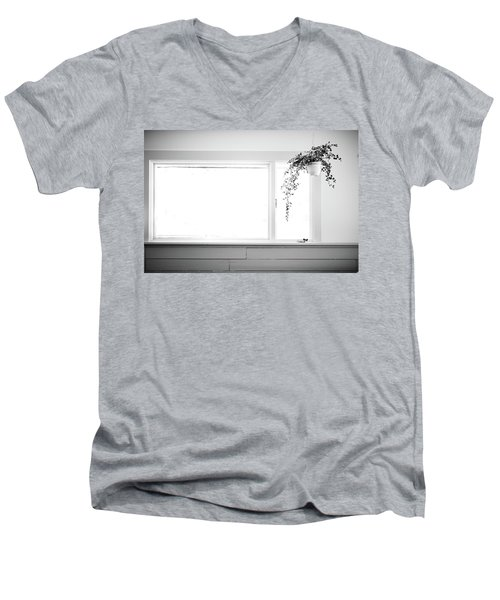 Men's V-Neck T-Shirt featuring the photograph Interior by Jingjits Photography