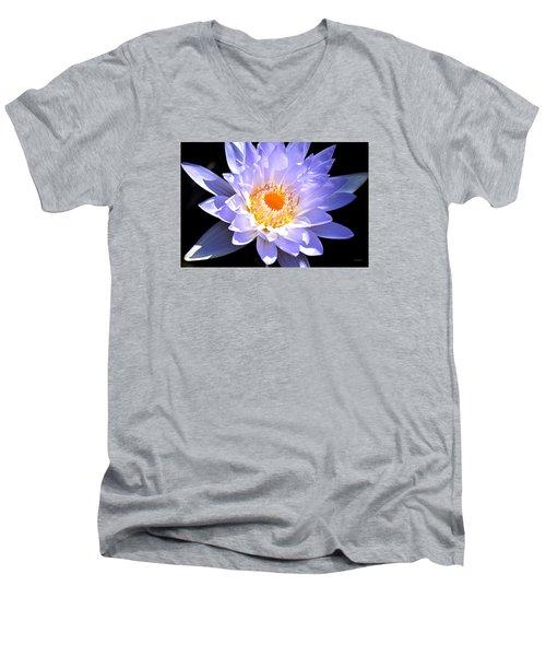 Internal Passion Men's V-Neck T-Shirt by Deborah  Crew-Johnson